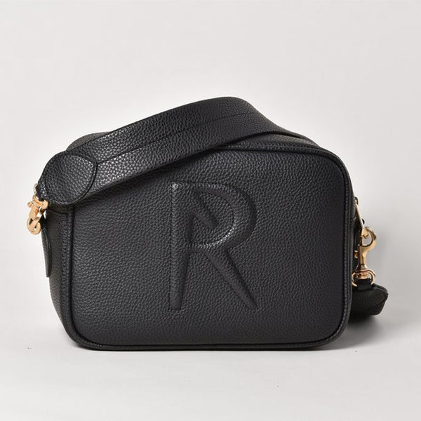 Angela Roi Grace Vegan Leather Crossbody - Black