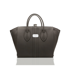 Alexandra K 1.5 Maxi Tote - Gray (Vegan Leather)