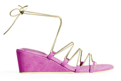 The Bungee Wedge Vegan Sandal - Femme