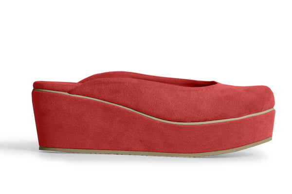 The Vegan Casa Wedge - Ruby