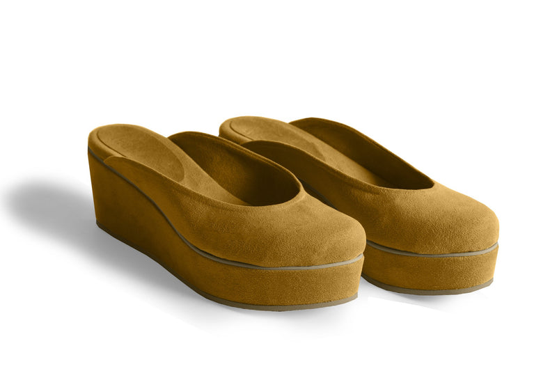 The Vegan Casa Wedge - Tan