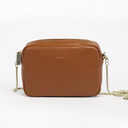 Samara Clelia Vegan Leather Crossbody - Tan