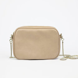 Samara Clelia Vegan Leather Crossbody - Nude