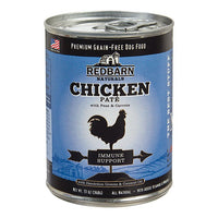 Redbarn Naturals Chicken Pate Immune Support Grain-Free Canned Dog Food, 13-oz