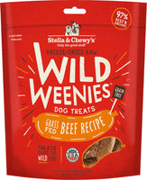 Stella & Chewy's Beef Wild Weenies Freeze-Dried Raw Dog Treats 3.25oz