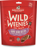 Stella & Chewy's Game Bird Wild Weenies Freeze-Dried Raw Dog Treats, 3.25-oz