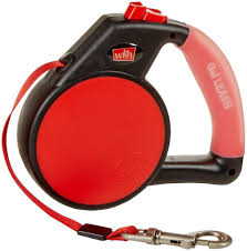 Red Wigzi Retractable Leash