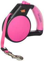 Pink Wigzi Retractable Gel Leash
