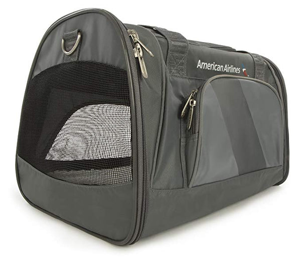 Sherpa American Airlines Duffle Pet Carrier, Charcoal (up to 16lbs)