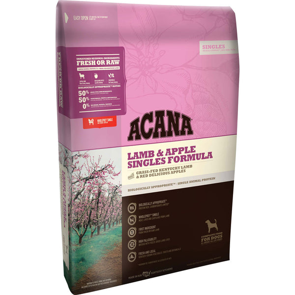 Acana Singles Lamb and Apple Formula Grain Free Dry Dog Food