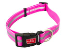 Wigzi Waterproof Collar Neon Pink