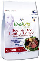 Pure Vita Grain Free Beef and Red Lentils Dry Dog Food