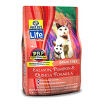 Lucy Pet Salmon, Pumpkin, and Quinoa Grain-Free Formula Dry Cat Food