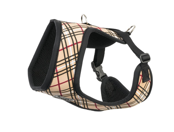 RC Pet Cirque Harness, Tan Tartan