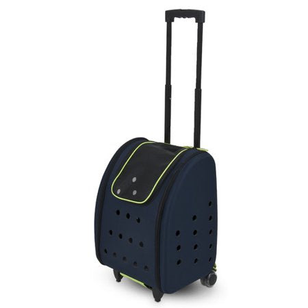 Petmate See & Roll Carrier, Navy Blue