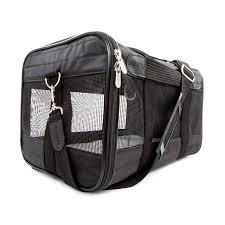 Sherpa Original Deluxe Pet Carrier, SM Black (up to 8lbs)