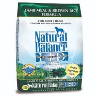 Natural Balance L.I.D. Limited Ingredient Diets Lamb Meal & Brown Rice Formula Dry Dog Food