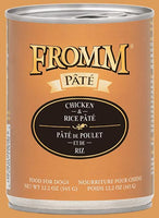 Fromm Chicken & Rice Pate Canned Dog Food, 12.2-oz
