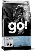 Petcurean Go! Sensitivity + Shine Limited Ingredient Diet Pollock Recipe Grain-Free Dry Dog Food