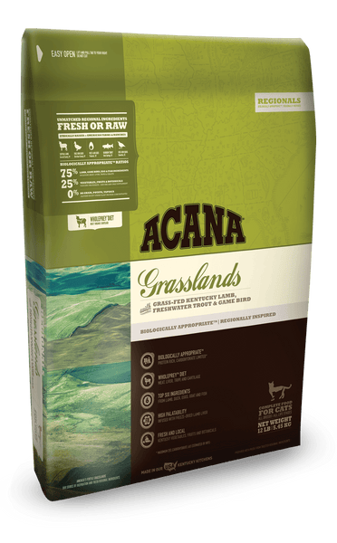Acana Regionals Grasslands Formula Cat and Kitten Grain Free Dry Cat Food