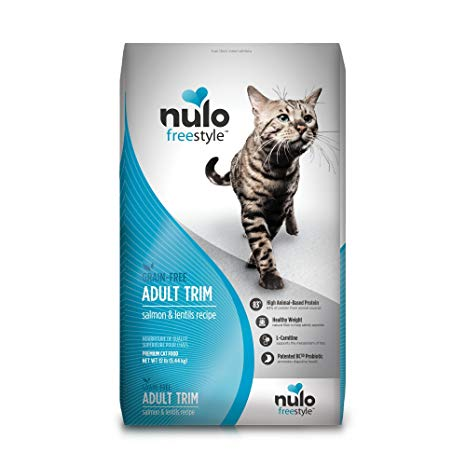 Nulo Freestyle Salmon & Lentils Recipe Grain-Free Adult Trim Dry Cat Food