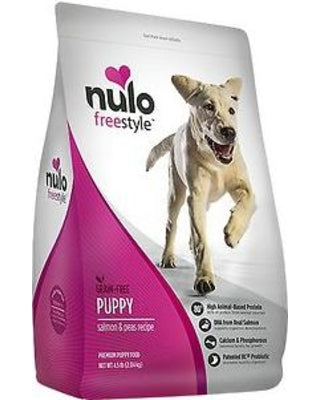 Nulo Freestyle Salmon & Peas Recipe Grain-Free Puppy Dry Dog Food