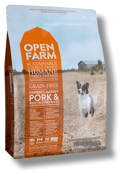 Open Farm Grain Free Farmer's Market Pork and Root Vegetable Recipe Dry Dog Food