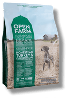 Open Farm Grain Free Homestead Turkey and Chicken Recipe Dry Dog Food