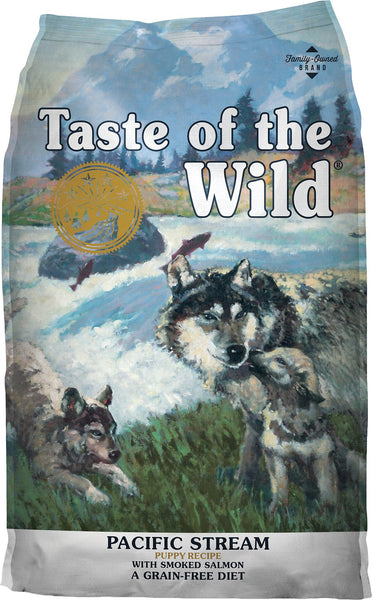 Taste of the Wild Pacific Stream Puppy Formula Grain-Free Dry Dog Food