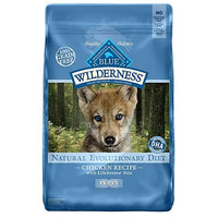 Blue Buffalo Wilderness Puppy Chicken Recipe Grain-Free Dry Dog Food