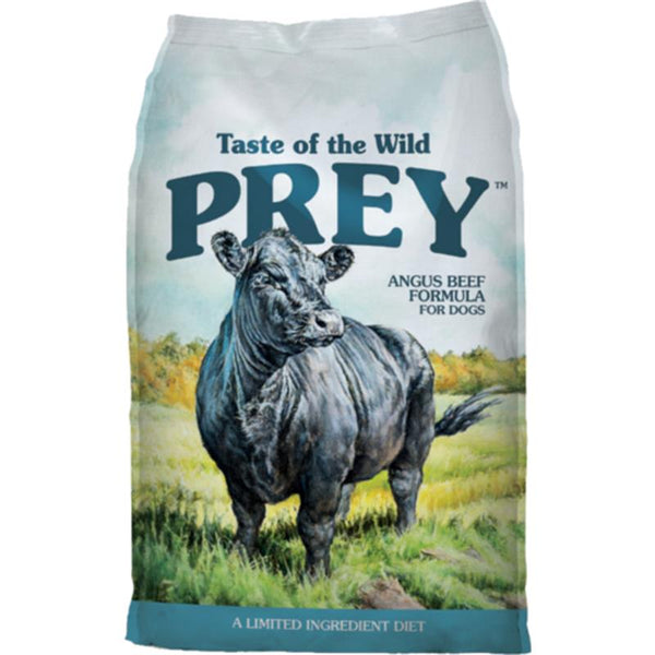 Taste of the Wild PREY Angus Beef Limited Ingredient Formula Grain-Free Dry Dog Food