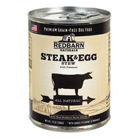 Redbarn Naturals Steak & Egg Stew Grain-Free Canned Dog Food, 13-oz