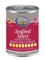Nutrisource Grain Free Seafood Select Formula Canned Dog Food, 13oz