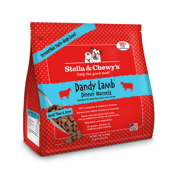 Stella & Chewy's Dandy Lamb Frozen Dinner Morsels