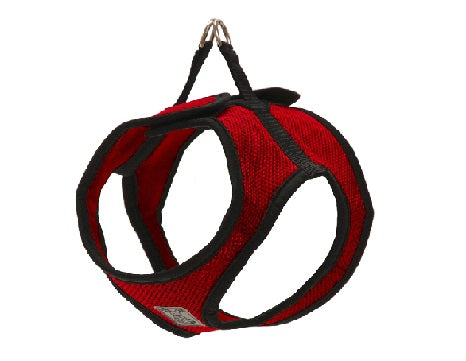 RC Pet Step In Cirque Harness, Red