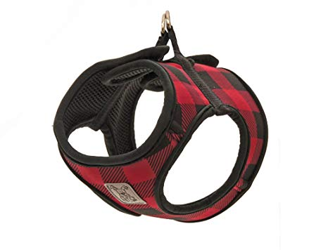 RC Pet Step In Cirque Harness, Red Buffalo Plaid