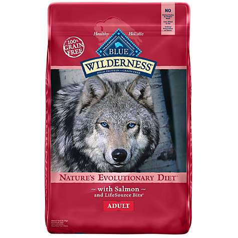 Blue Buffalo Wilderness Salmon Recipe Grain-Free Dry Dog Food