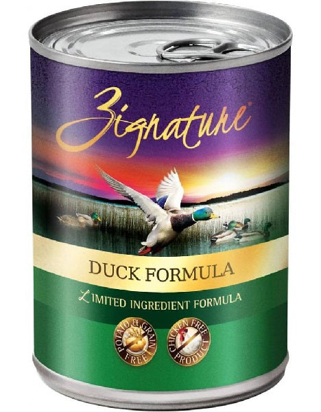 Zignature Duck Limited Ingredient Formula Grain-Free Canned Dog Food