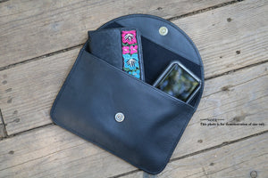 Nicavana Leather crossbody bag with wallet