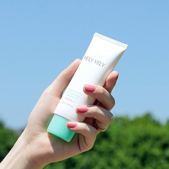 Mild Physical UV Defense Sunscreen - velyvelyus