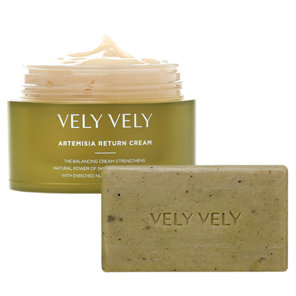 Artemisia Return Cream + Soap Set - VELY VELY