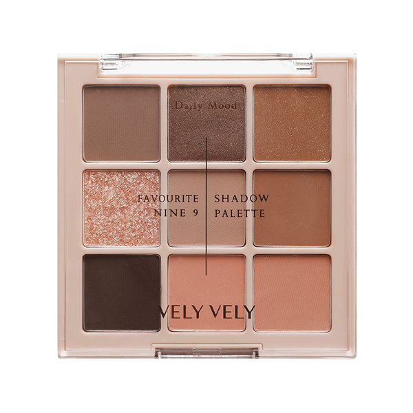 Favourite 9 Shadow Palette - velyvelyus