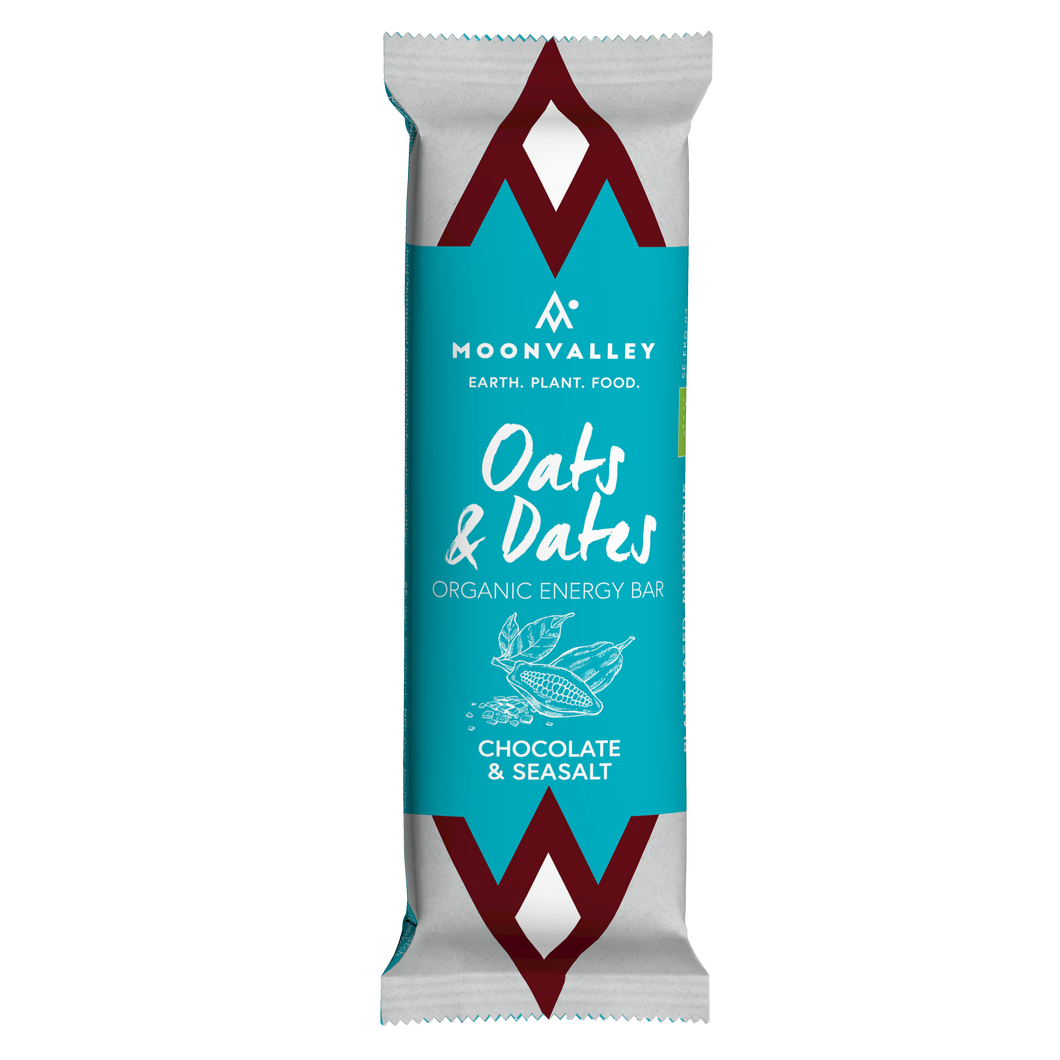 Organic Energy Bar – Chocolate & Seasalt