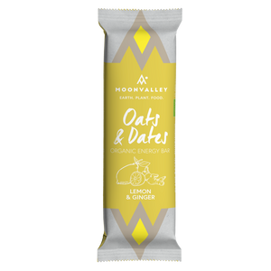 Organic Energy Bar - Lemon & Ginger