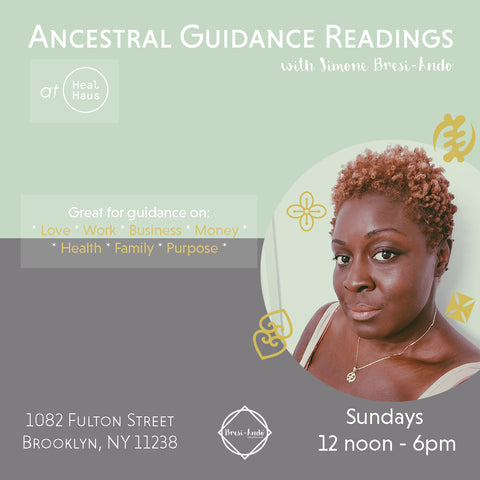 Ancestral Guidance Readings with Simone Bresi-Ando