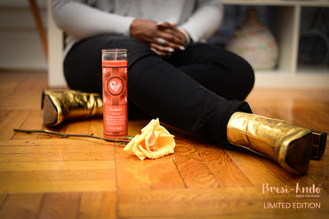 Sankofa Adinkra Intention Candle - *Limited Edition*