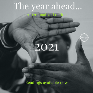 The Year Ahead 2021 readings (via Zoom)