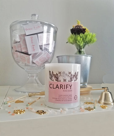 The CLARIFY candle - Rose Oudh