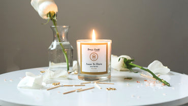 Asase Ye Duru scented candle - Rose Oud
