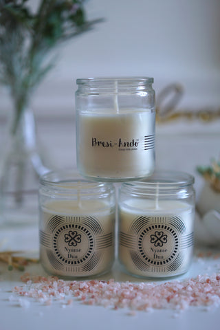 Adinkra Intention *Travel Sized* candles - TRIO